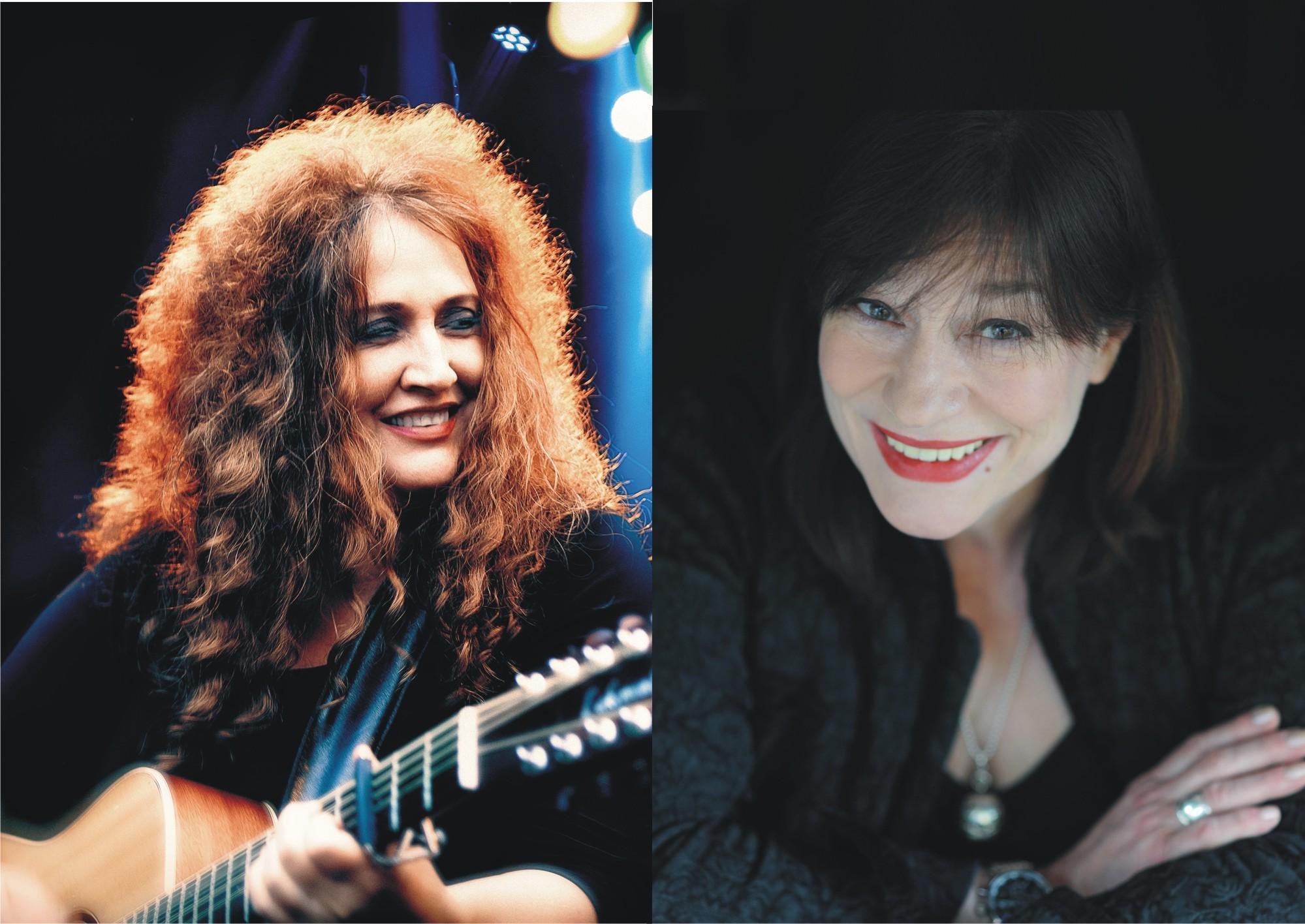 Ulla Meinecke und Anne Haigis treten im Stadttheater Ratingen auf