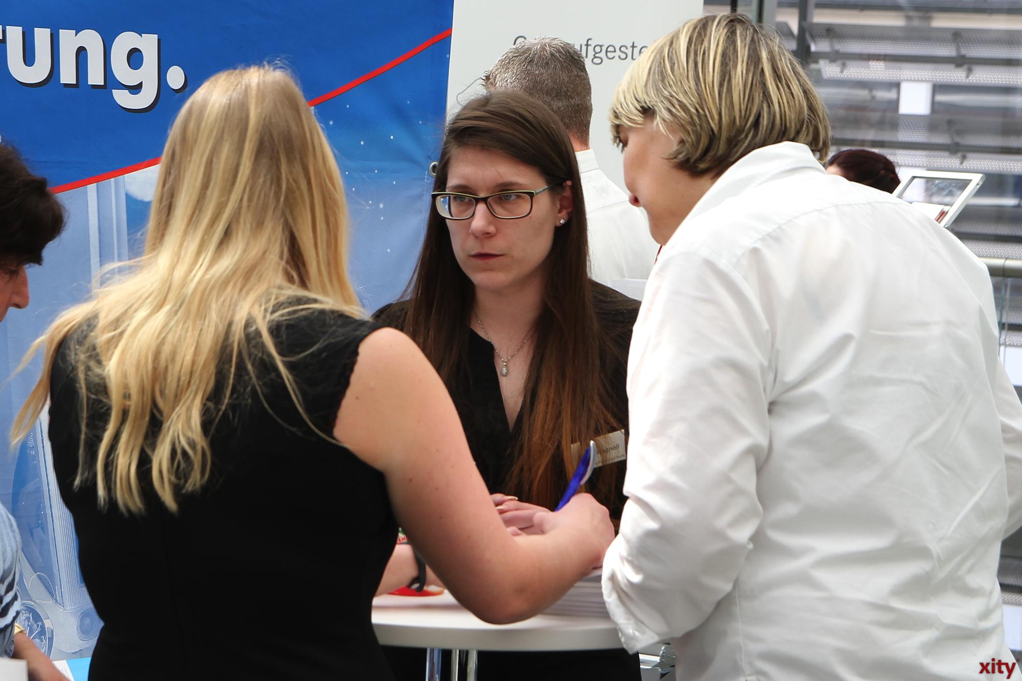 Interessierte konnten sich im Forum der Stadtsparkasse informieren (Foto: xity)