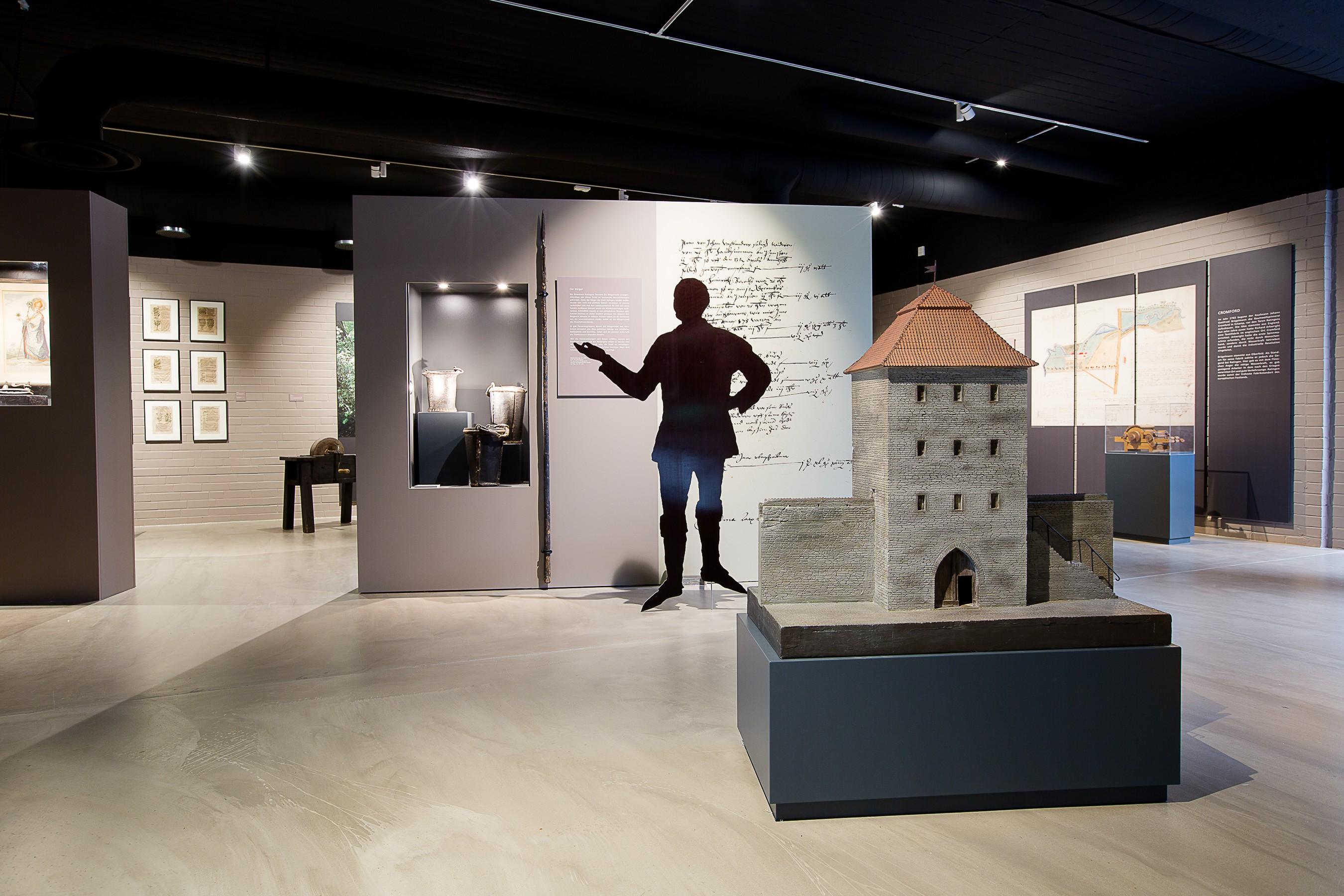 Die Ausstellung zeigt die Stadtgeschichte von 1276 bis 2016 (Foto: Stadt Ratingen)