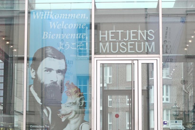 Das Hetjens-Museum zeigt vom 19. April bis 7. August die Sammlung Middelschulte mit Bergmanns-Porzellan(Foto: xity)