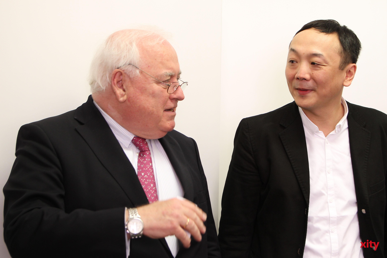 Friedrich G. Conzen und André Yuen(Foto: xity)