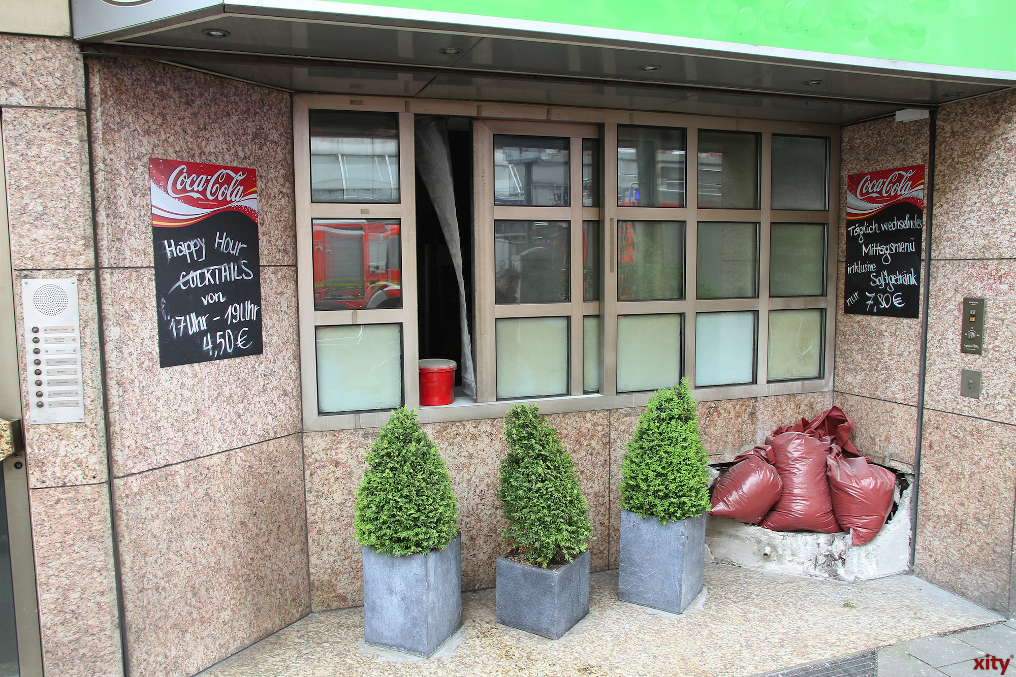 Am Freitag kam es zu einem Brand in einem Restaurant an der Friedrichstraße (Foto: xity)