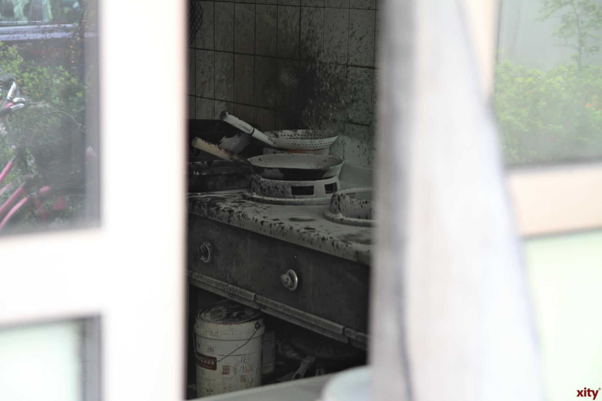In der Küche eines Restaurants war ein Feuer ausgebrochen (Foto: xity)