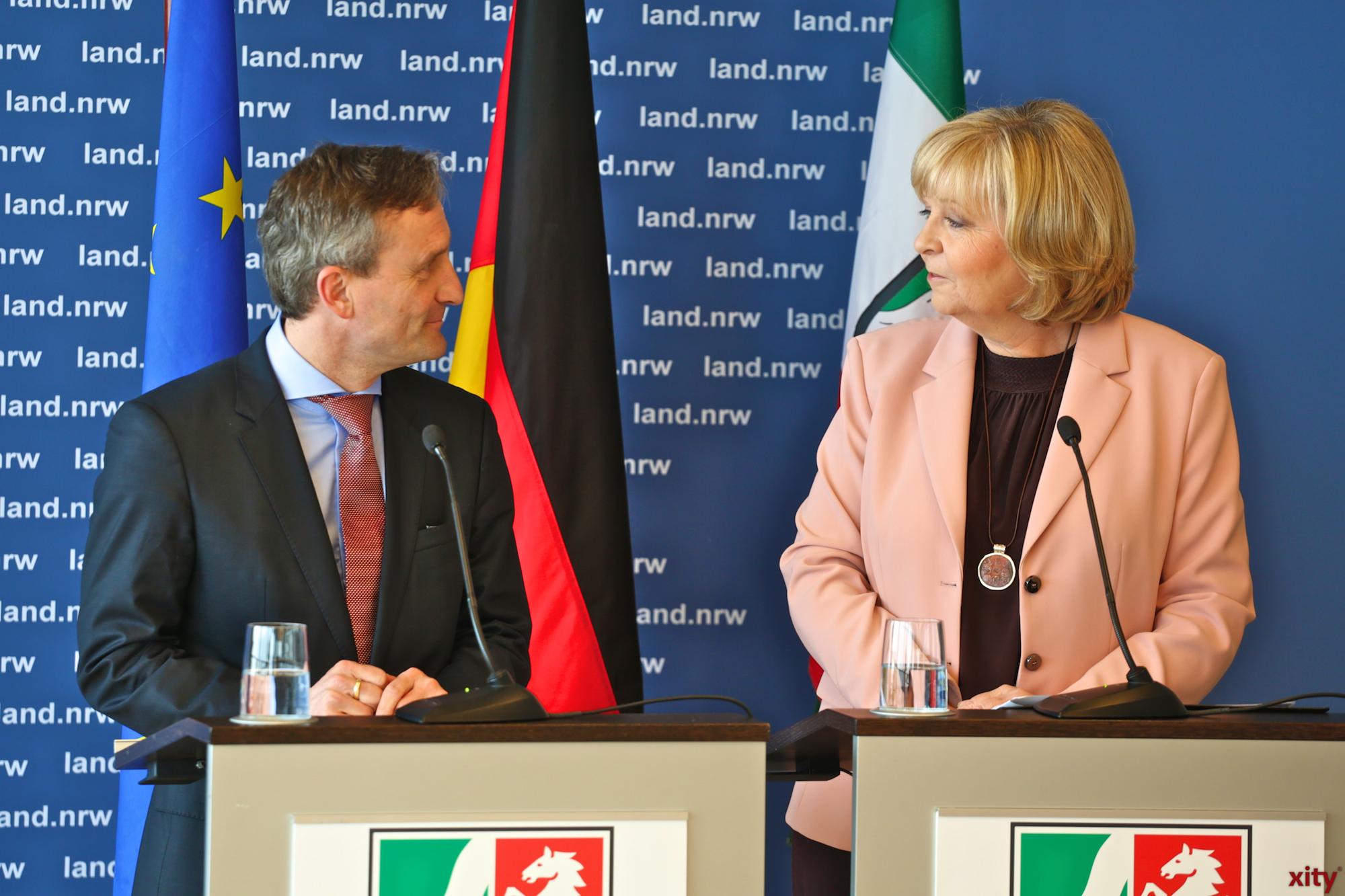 Thomas Geisel und Hannelore Kraft (Foto: xity)