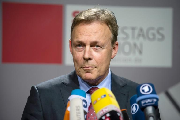 """Oppermann: """"Die Situation ist ernst für die SPD"""" (© 2016 AFP)"""