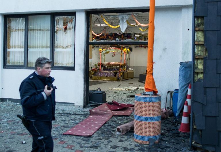 Drei Verletzte bei Explosion in Essener Sikh-Tempel (© 2016 AFP)