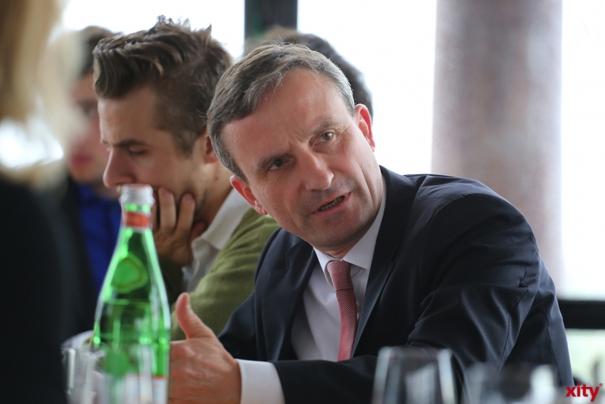 Oberbürgermeister Thomas Geisel setzt seine Stadtteil-Gespräche fort (Foto: xity)