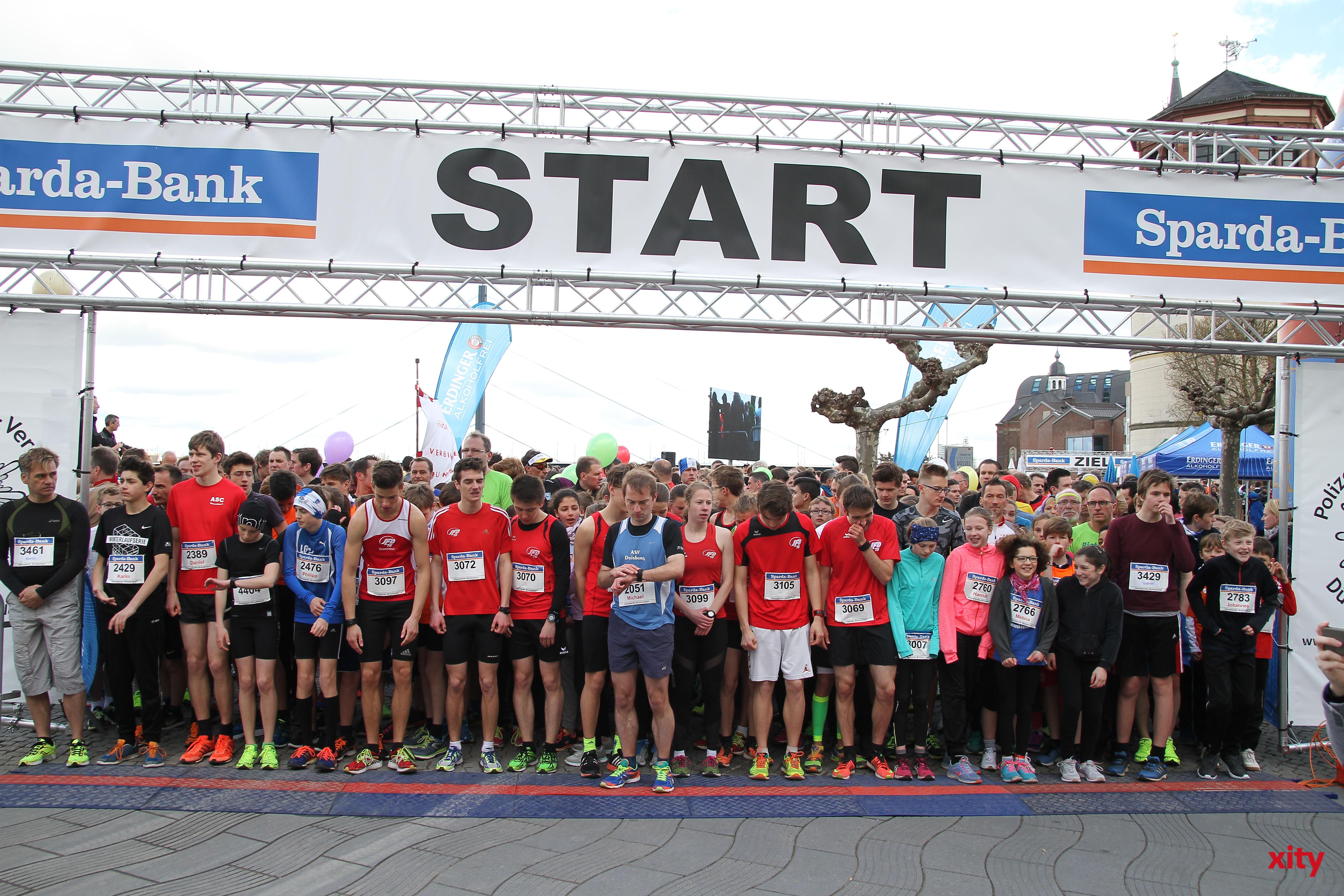 Im Hauptlauf über 10 km siegten drei Sportler des ART Düsseldorf (Foto: xity)