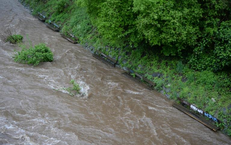 Von Hochwasser in Baden-Württemberg mitgerissener Junge tot (© 2016 AFP)