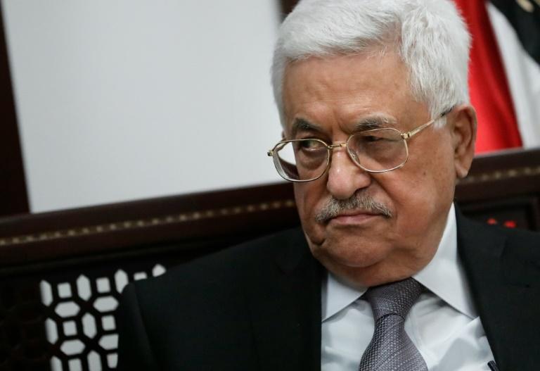 Merkel empfängt Palästinenserpräsident Abbas im Kanzleramt (© 2016 AFP)