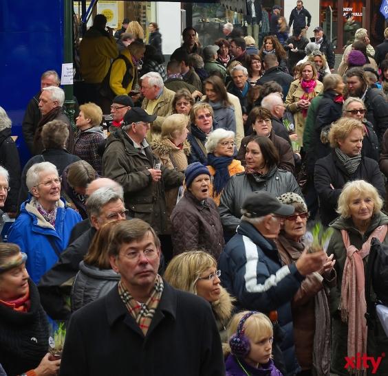 Stichprobe ergibt repräsentativen Querschnitt der Bevölkerung in Düsseldorf (Foto: xity)
