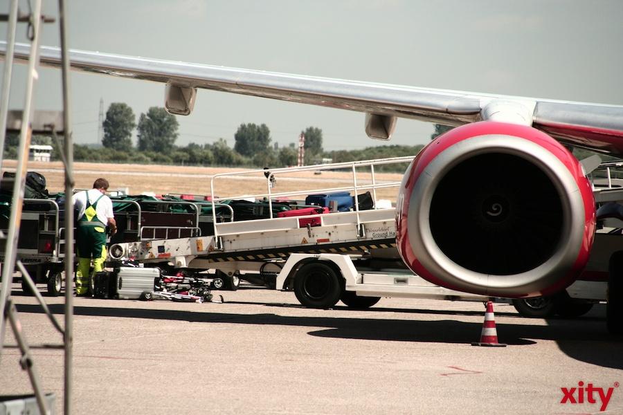 Bald sollen bis zu 60 Flugzeuge pro Stunden in Düsseldorf landen (Foto: xity)