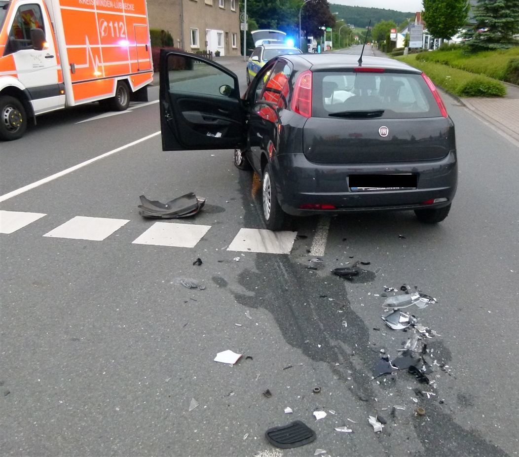 Zwei Verletzte bei Unfall (Foto: OTS)