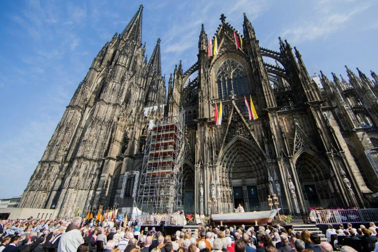 Kölner Erzbischof warnt vor Verdrängung von Flüchtlingsleid (Foto: AFP)