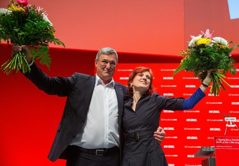 Riexinger und Bartsch weisen Kritik an Zustand der Linken zurück (© 2016 AFP)