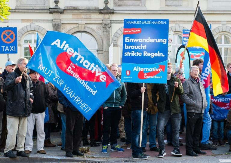 Nachwuchs der Koalitionsparteien macht gegen AfD mobil (Foto: Daniel Bockwoldt/dpa)