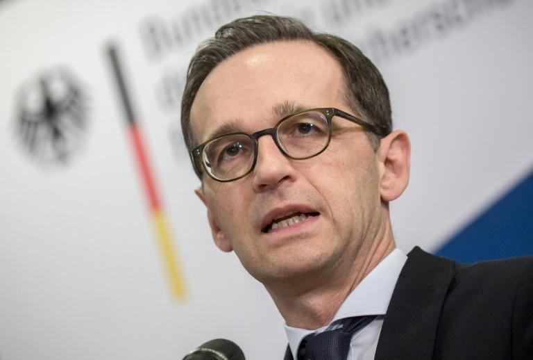 Justizminister Maas plädiert für konsequente Haltung im Umgang mit Erdogan (© 2016 AFP)