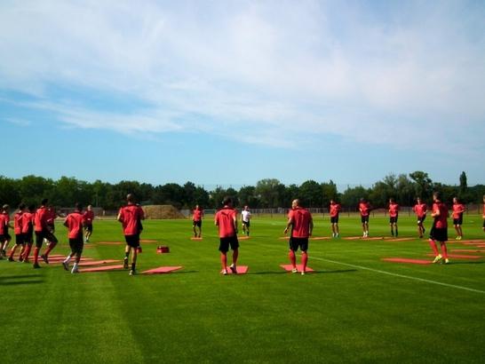 Die Fortuna wird auch in diesem Jahr ein zweites Trainingslager im Rahmen der Vorbereitung auf die kommende Saison abhalten (Foto: xity)