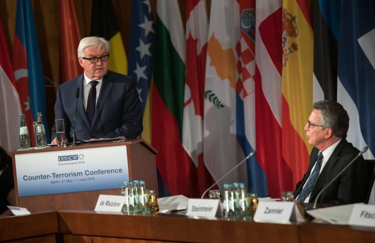 Steinmeier: Müssen Extremismus und Terrorismus stärker an den Wurzeln bekämpfen (© 2016 AFP)