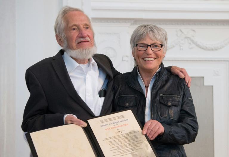 Cap-Anamur-Mitbegründer Neudeck im Alter von 77 Jahren gestorben (© 2016 AFP)