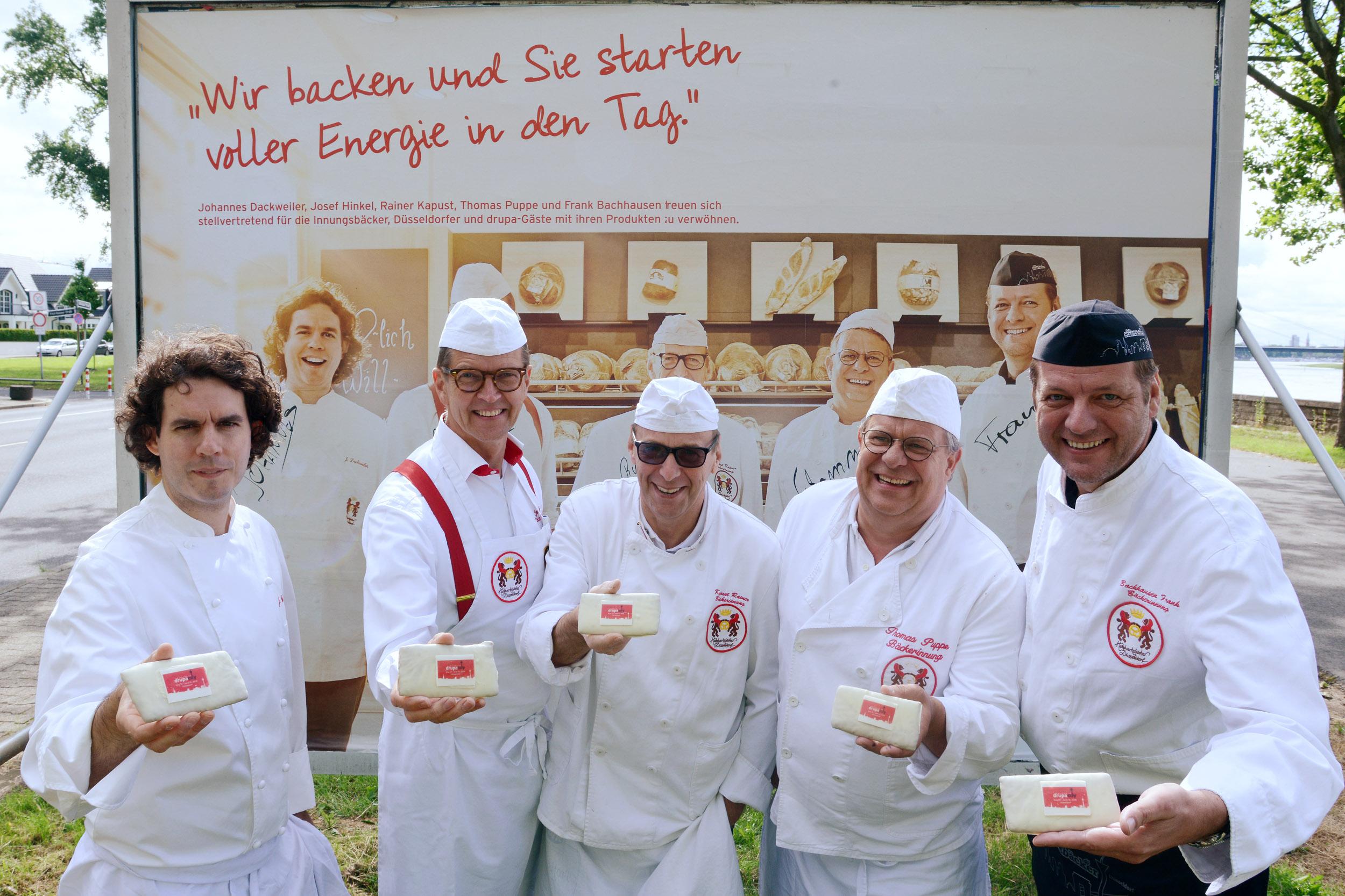 Johannes Dackweiler, Josef Hinkel, Rainer Kapust, Thomas Puppe und Frank Bachhausen (Foto: purfoto/Rolf Purpar)