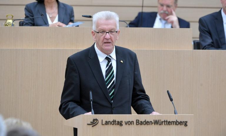 Kretschmann wirbt für Europa und gesellschaftlichen Zusammenhalt (© 2016 AFP)