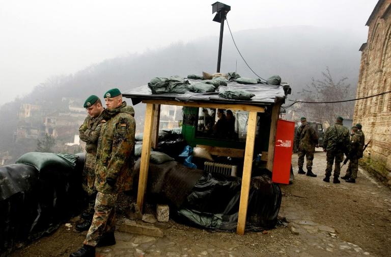 Bundeswehrmission im Kosovo wird verkleinert (© 2016 AFP)