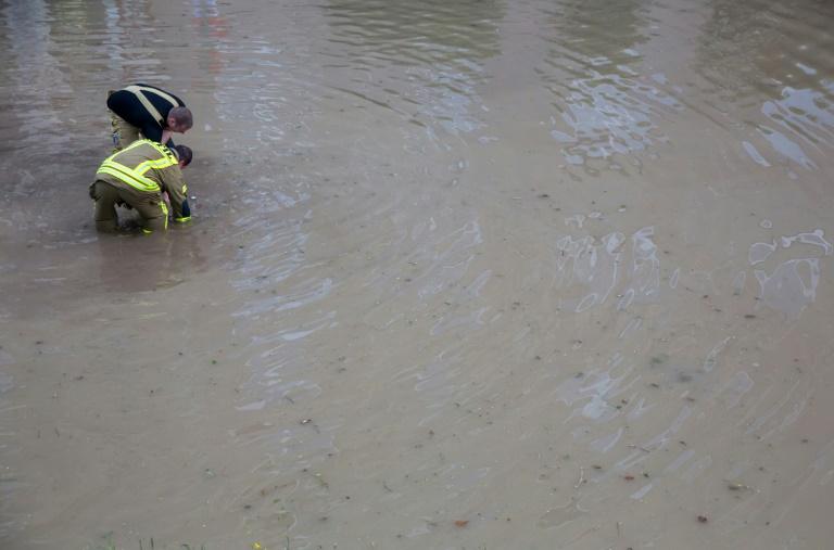 Katastrophenalarm in Niederbayern wegen Überschwemmungen (© 2016 AFP)