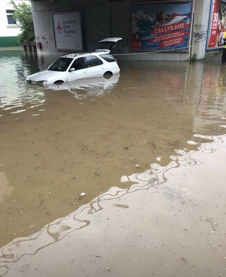 Starkregen in Erkrath(Foto: OTS)