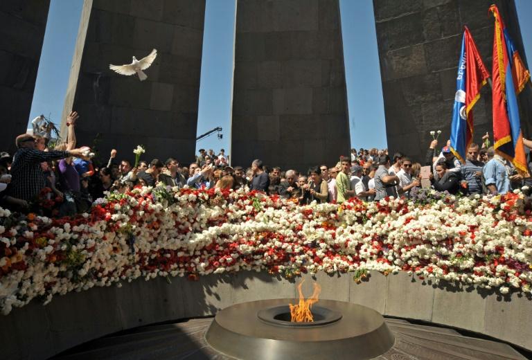 Bundestag stimmt über Armenien-Resolution ab (© 2016 AFP)