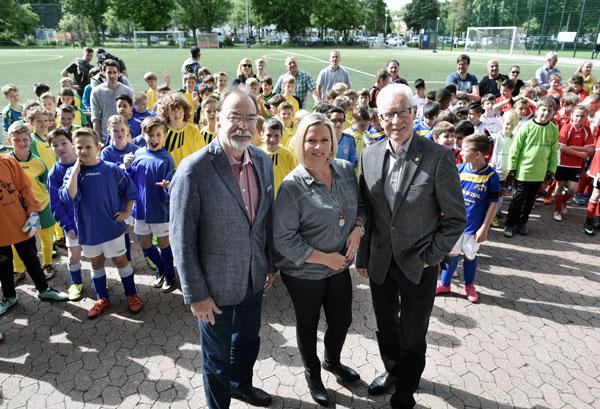 Spardabank-Cup: Vorrunden der Grundschuljungen gestartet (Foto: Stadt Krefeld)