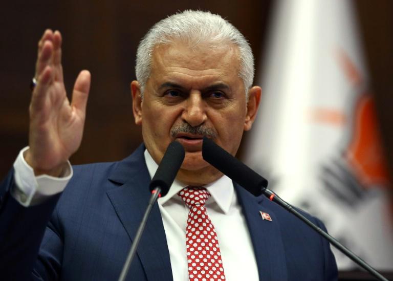 """Yildirim nennt Armenier-Beschluss """"Test"""" für deutsch-türkische Freundschaft (© 2016 AFP)"""