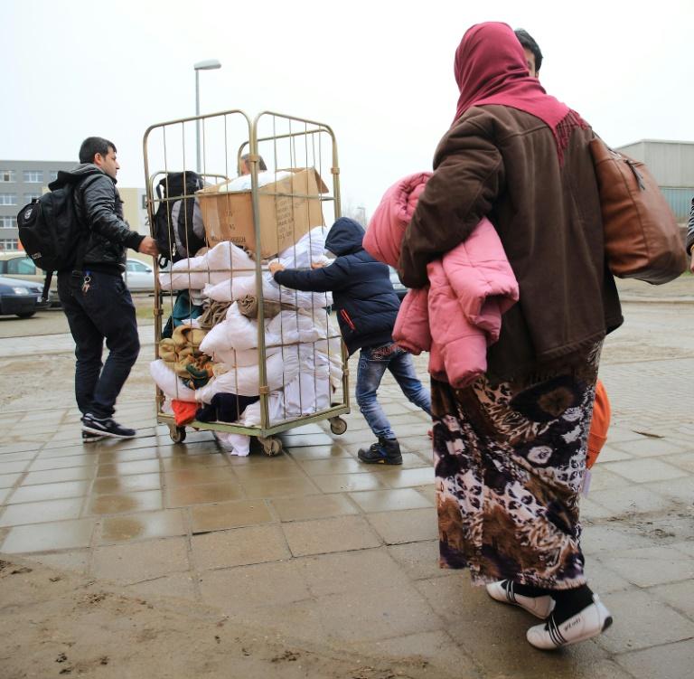 "Haseloff: Umgang mit Flüchtlingskrise ist ""Reifeprüfung für uns alle"" (© 2016 AFP)"