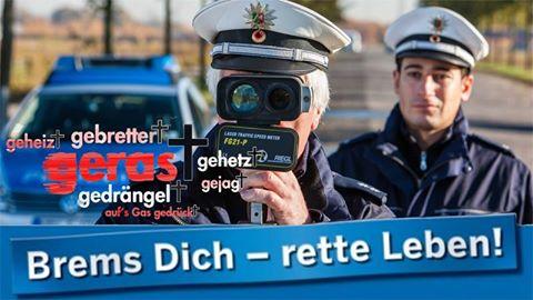 Geschwindigkeitskontrollen in Oberhausen (Foto: OTS)