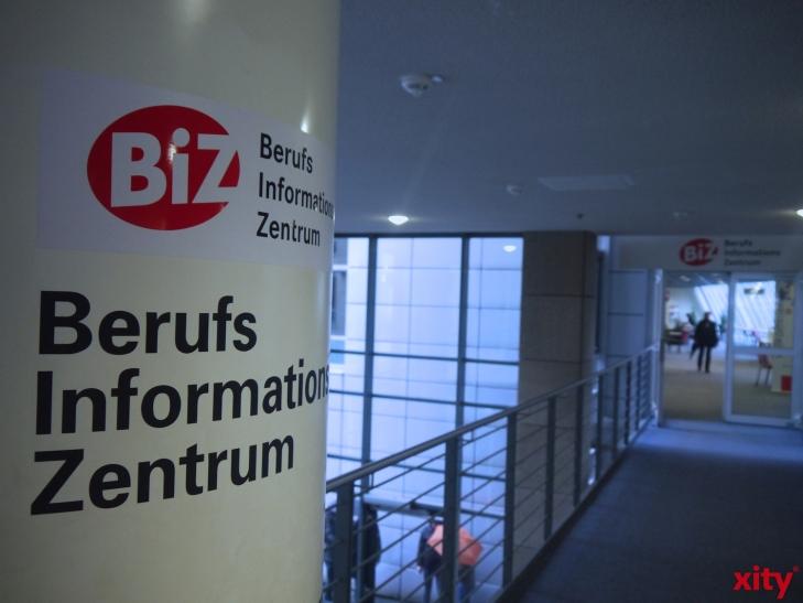 """Informationsveranstaltung """"Ausbildung und Studium bei der Bundespolizei"""" in der Agentur für Arbeit Düsseldorf (Foto: xity)"""