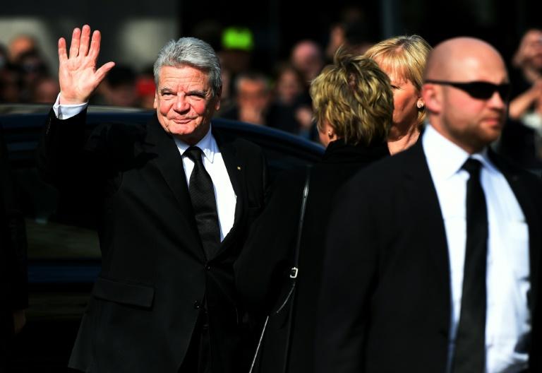 Zeitung: Gauck will nicht für zweite Amtszeit kandidieren (© 2016 AFP)