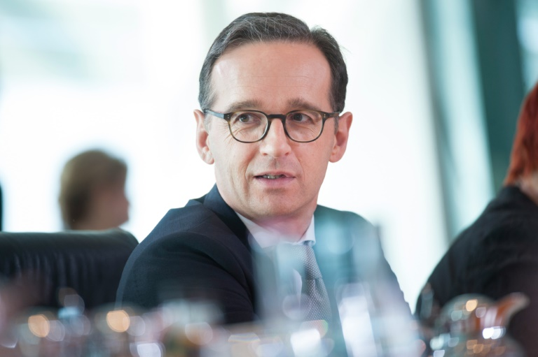 Justizminister Heiko Maas erhält Morddrohungen (© 2016 AFP)