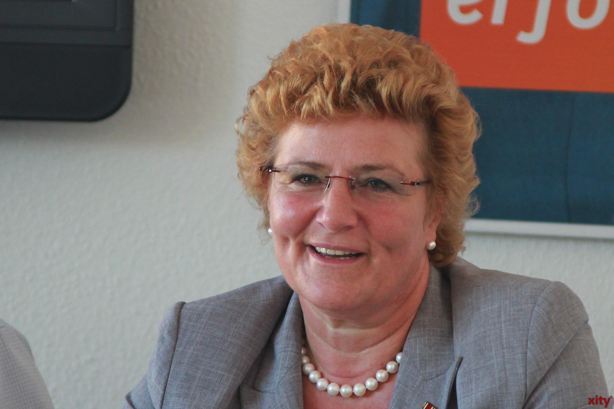 Sylvia Pantel, Bundestagsabgeordnete der Düsseldorfer CDU (Foto: xity)