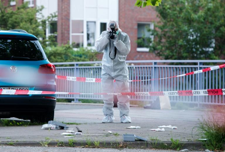 Hintergründe von tödlichen Schüssen auf Hamburger Passanten bislang unklar (© 2016 AFP)
