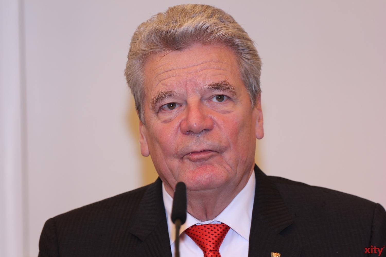 Bundespräsident Joachim Gauck verzichtet auf eine zweite Amtszeit (Foto: xity)