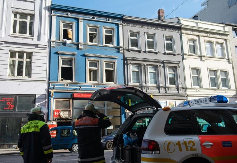 Tödlicher Hotelbrand in Hamburg von Übernachtungsgast gelegt (© 2016 AFP)