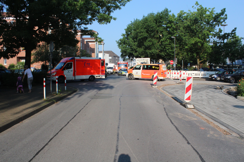 Fußgängerin angefahren und schwer verletzt - ... (Foto: OTS)