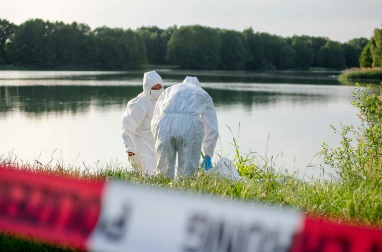 Plastiksack mit Leichenteilen in See in Hannover gefunden (© 2016 AFP)