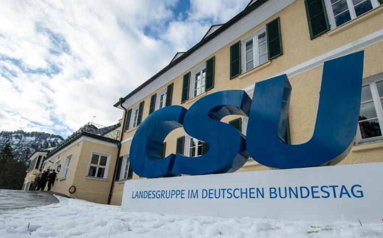 """""""SZ"""": Kloster Seeon ersetzt für CSU-Landesgruppe das legendäre Wildbad Kreuth (© 2016 AFP)"""