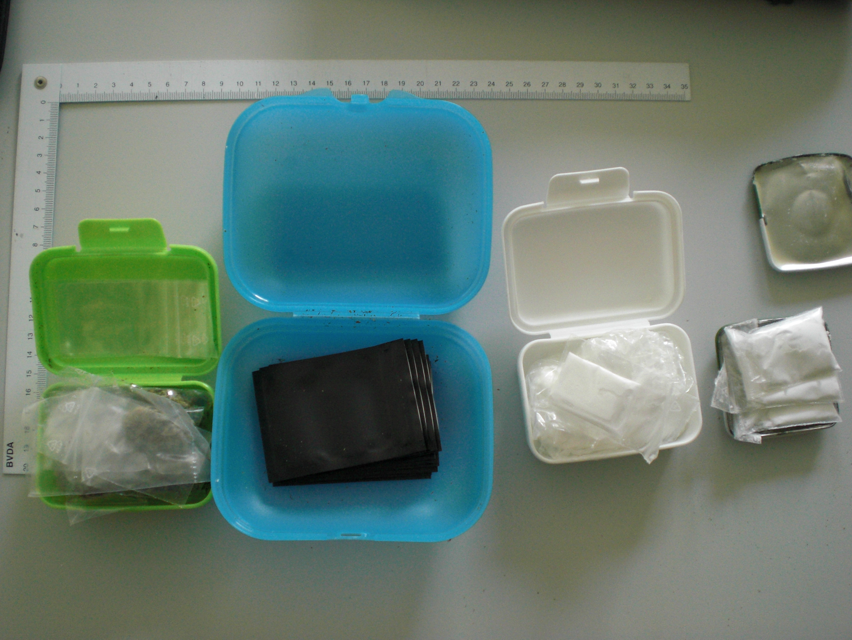 Drogendealer in Haft (Foto: OTS)