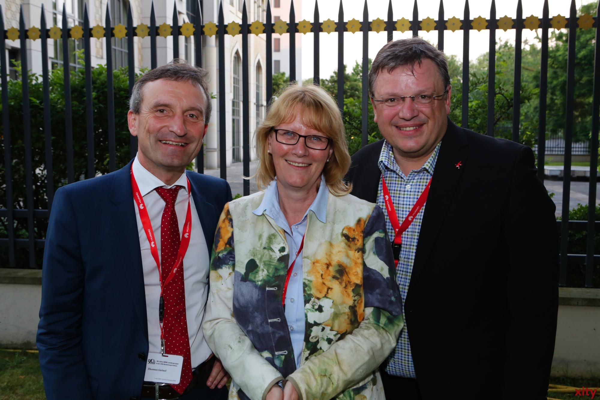 (v.l.) Thomas Geisel, Karin Kortmann und Andreas Rimkus (Foto: xity)