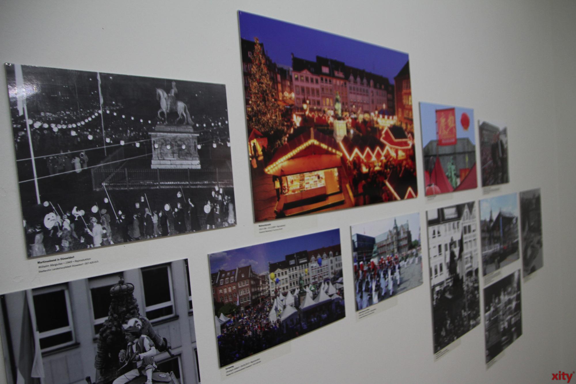 Die Ausstellung zeigt verschiedene Kapitel in der Geschichte des Denkmals (Foto: xity)