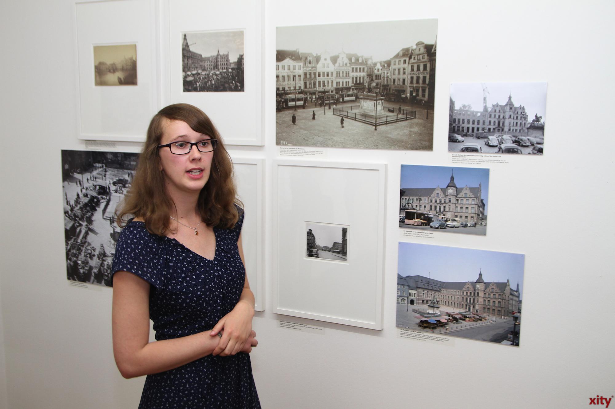 Anja Schumann, Volontärin des Stadtmuseums und Kuratorin der Ausstellung Jan Wellem - Im Herzen Düsseldorfs!? (Foto: xity)