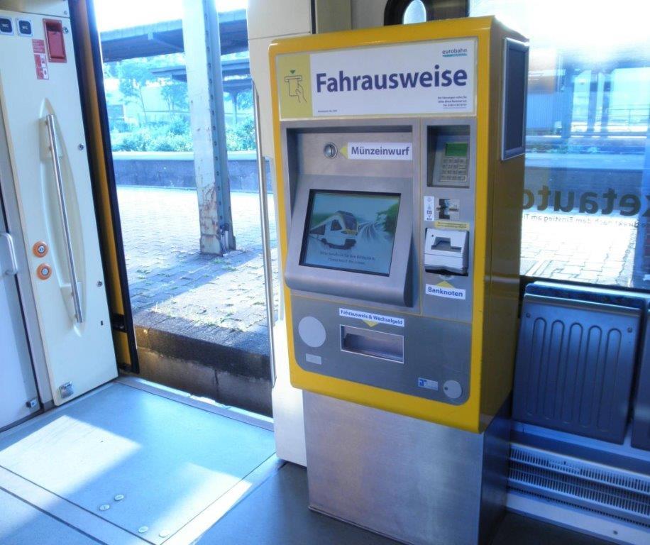 Aufbruch eines  Fahrausweisautomaten (Foto: OTS)