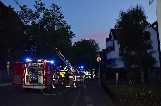 Eine optische Täuschung sorgte am Montagabend für einen Feuerwehreinsatz (Foto: xity)
